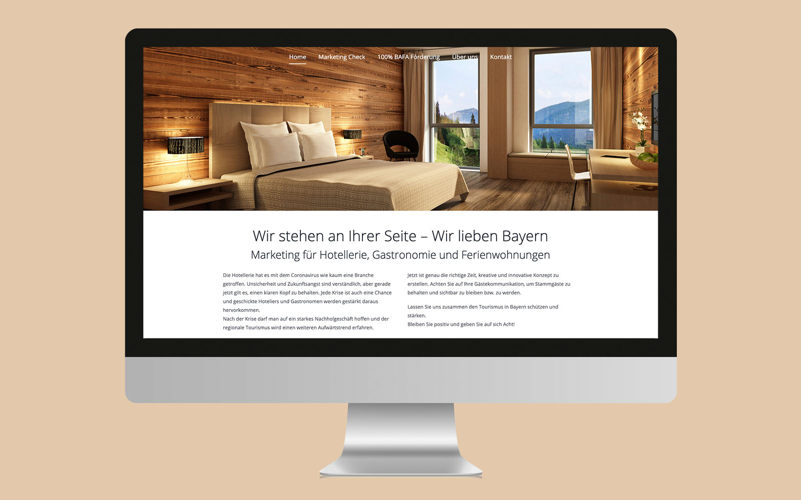 Desktopversion Hotel Marketing Experten