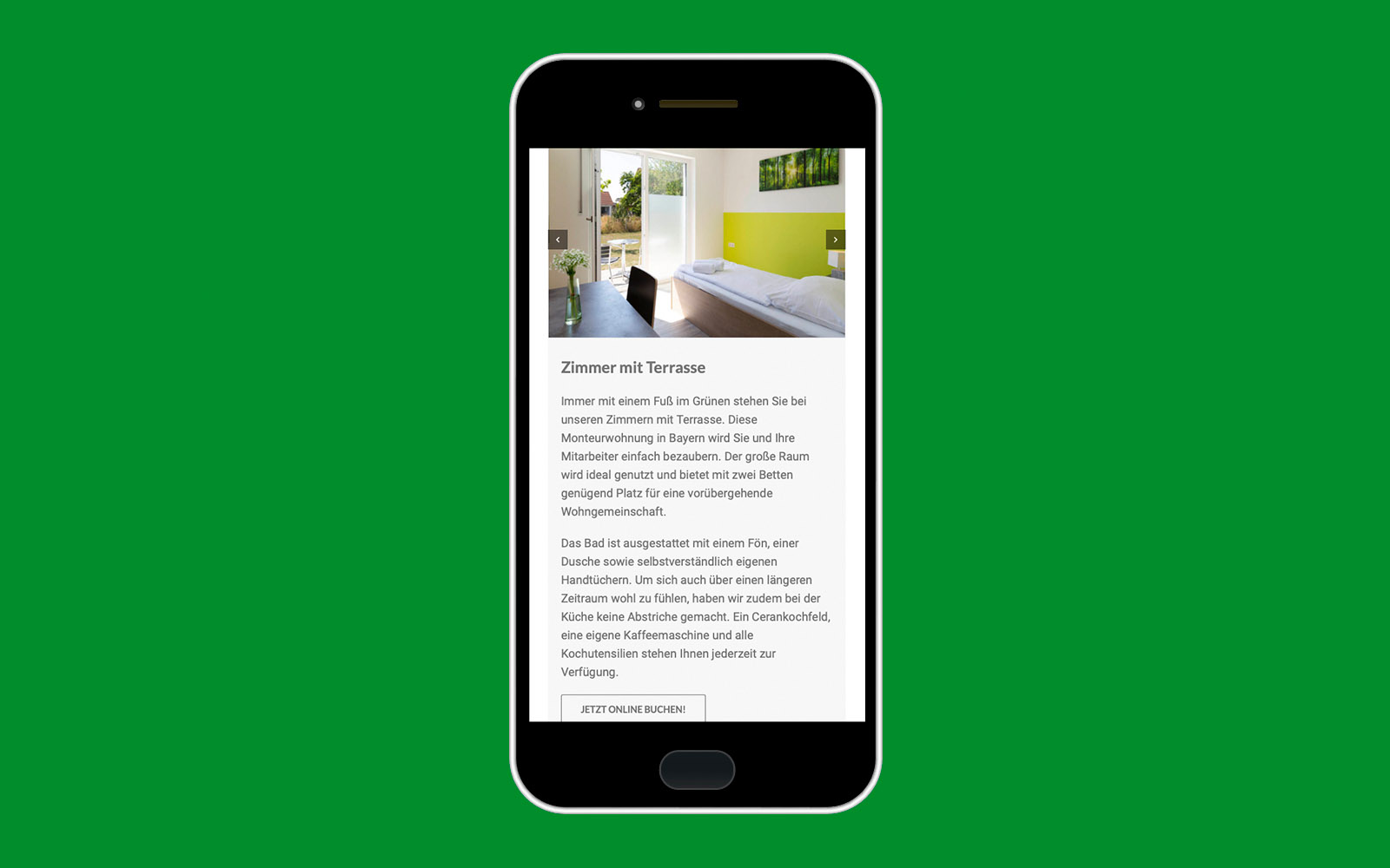 Smartphone-Version Green Guest House